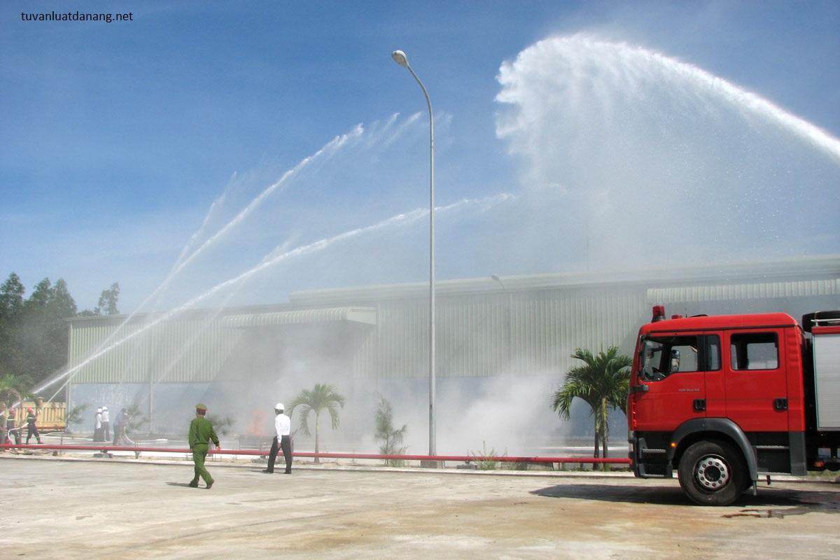 Thủ tục cấp giấy phép phòng cháy chữa cháy tại Đà Nẵng